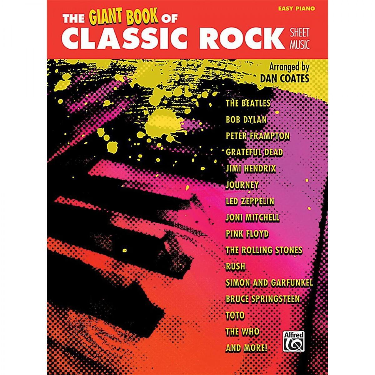 Alfred Giant Book of Classic Rock Sheet Music - The School Locker