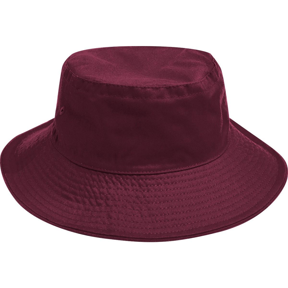 Mountcastle Bucket Hat Maroon - The School Locker a7a903d64d5