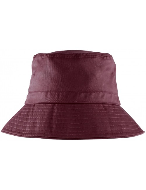 Spartan Bucket Hat Maroon - The School Locker 040f362c8e3