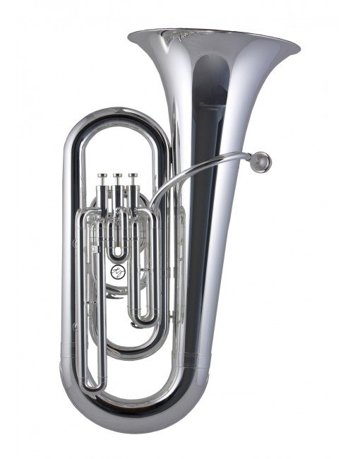 Trevor James Renaissance Tuba Eb 3 4 Size Silver Plated